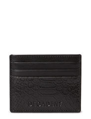 Two side card holder - Anaconda black