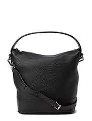 Small plain shoulder bag - Black