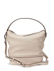 Small plain shoulder bag - Bone