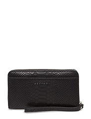 Zip wallet - ANACONDA BLACK