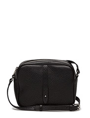 Round cross body w/stripe - Flotter - BLACK