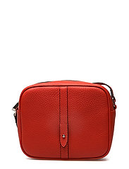 Round cross body w/stripe - Flotter - RED