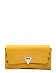 Small clutch w/buckle - VIBRANT YELLOW