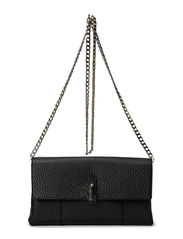 Small Clutch with Cain - Black