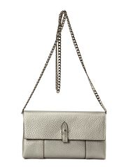 Small Clutch with Cain - Steel Grey