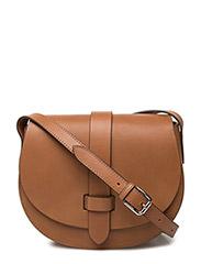 Small satchel bag - COGNAC