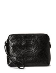 Make up Purse - Anaconda Black