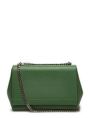 Small clutch with double chain - GREEN