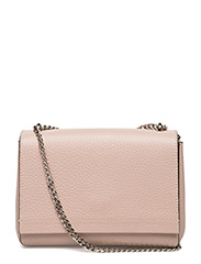 Small clutch with double chain - SOFT PINK