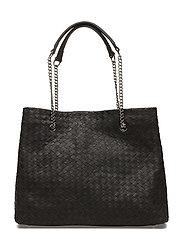 Alice woven bag - BLACK