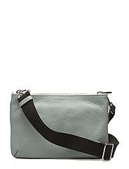 Alexa double bag w. canvas strap - FROSTY GREEN