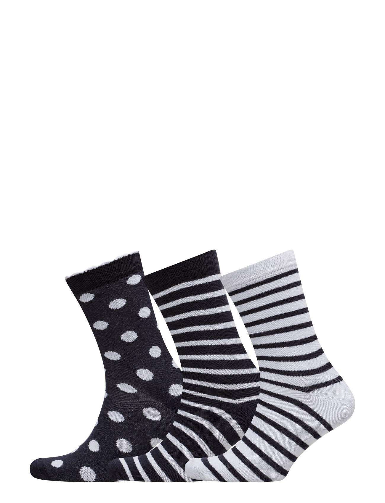 b5300dbfb55 Køb Ladies Ankelsock 3-Pack Decoy Strømpebukser i Blå til Kvinder på  internettet