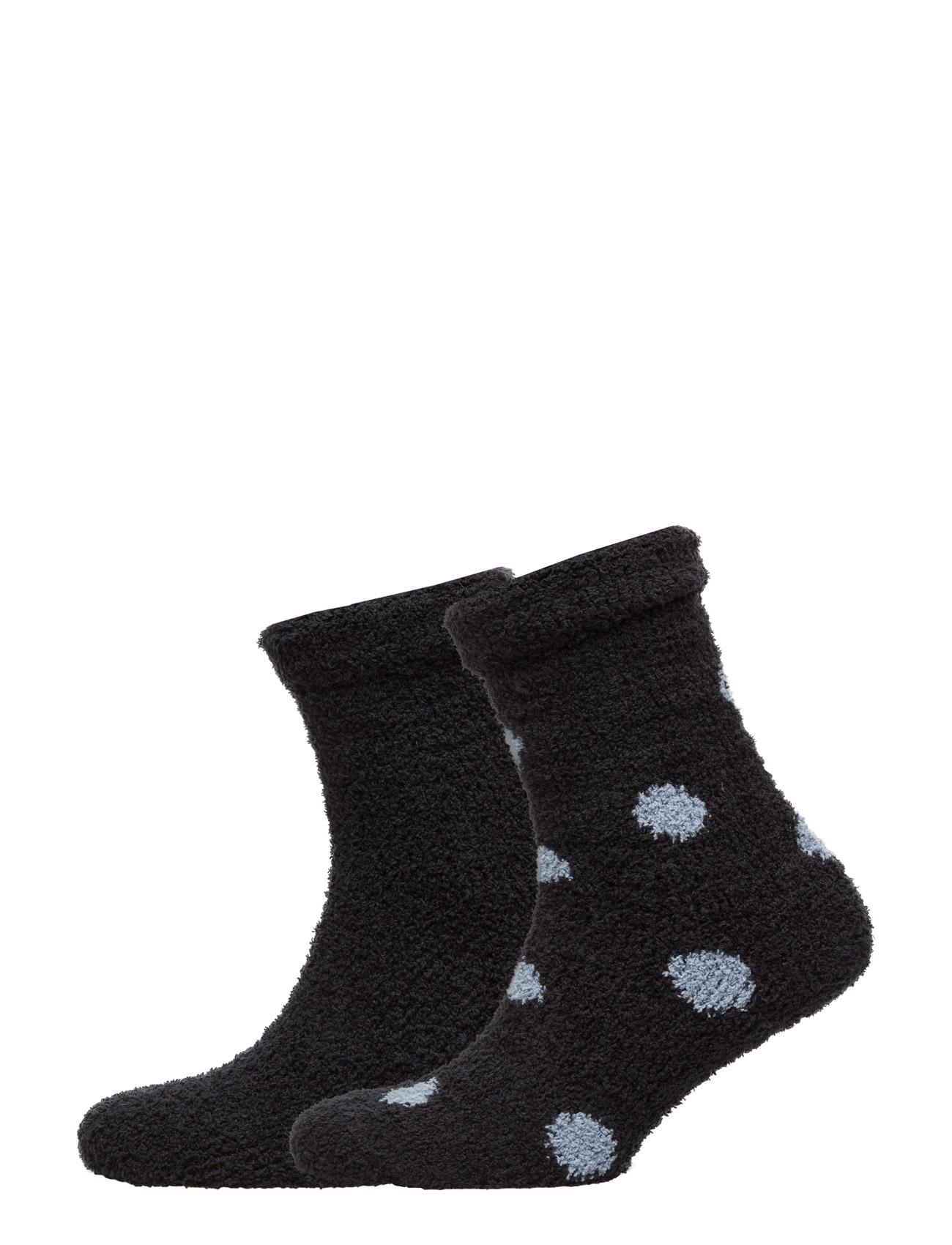 Ladies Bed Socks 2pack Decoy Strumpor