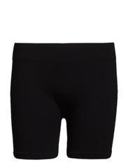 Seamless hot pants - BLACK