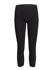Seamless capri leggings - Black