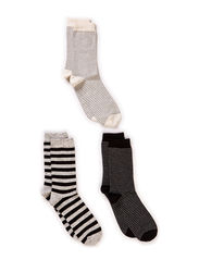 Ladies fashion ankelsock 3pack - Black