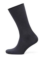 Ladies thin ankle sock - Navy