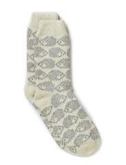 Ladies Hedgehog sock - Beige