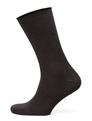 Ladies thin ankle sock - BLACK