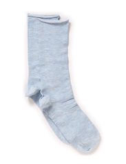 Ladies thin ankle sock - Bright Blue