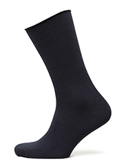 Ladies thin ankle sock - DRESS BLUE