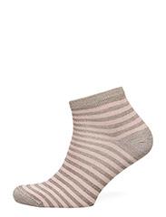 Decoy - Ladies Sock W. Lurex Stripes