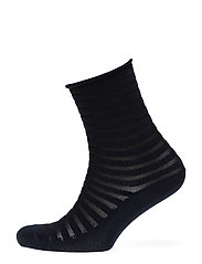 Fashion low cut sock with lurex - NAVY