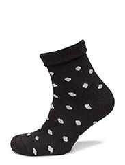 Ladies cosy socks - BLACK