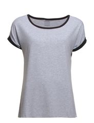 HW T-Shirt Roll-upSleeves W.F. - Light grey melange