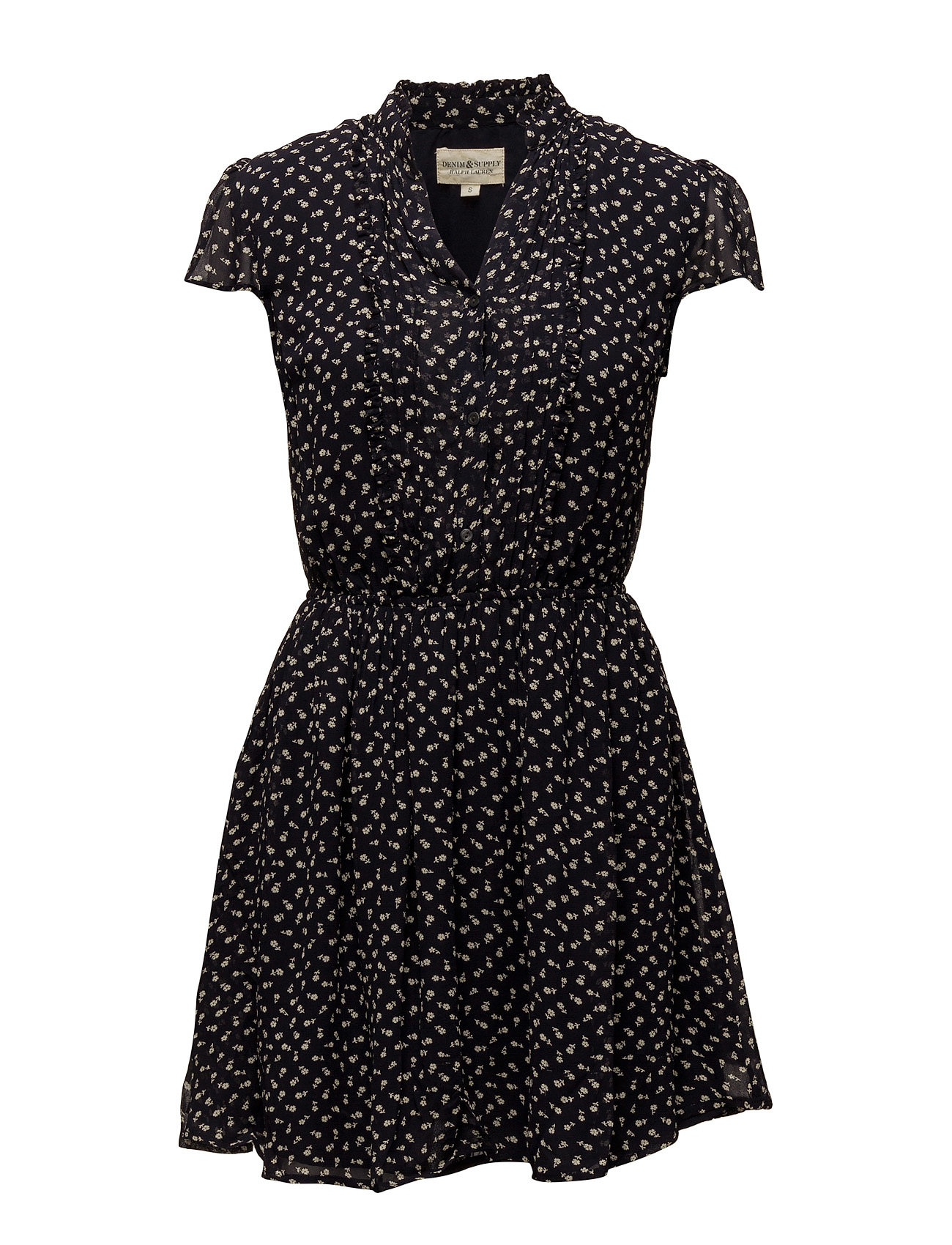 Denim & Supply Ralph Lauren Floral-Print Gauze Dress