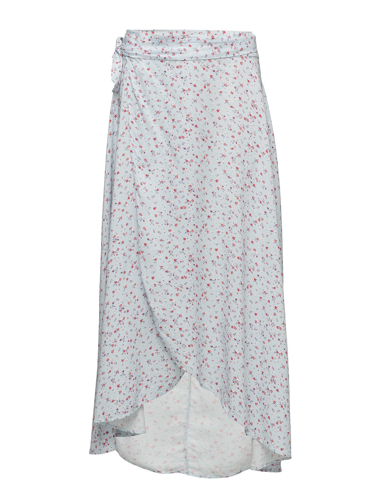 Denim & Supply Ralph Lauren Floral-Print Wrap Maxiskirt
