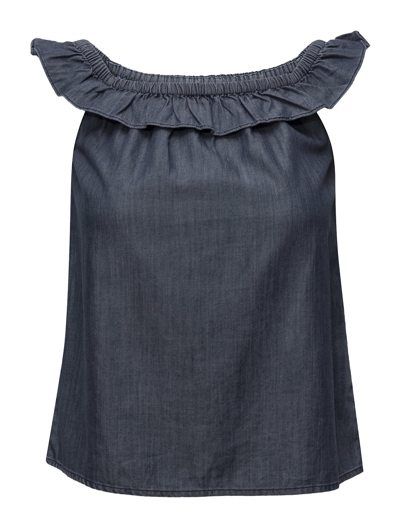 Denim & Supply Ralph Lauren Off-the-Shoulder Denim Top