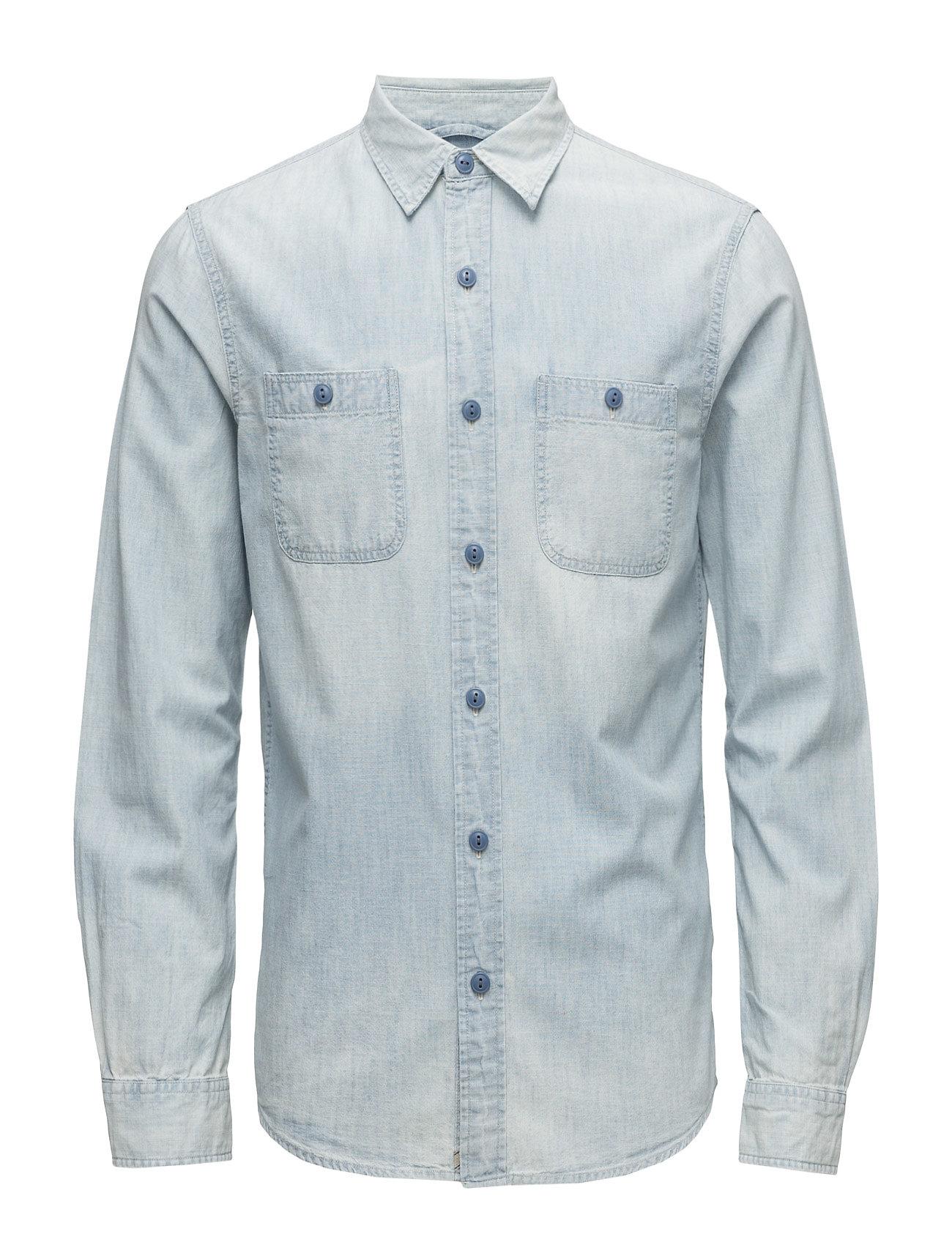 denim supply ralph lauren indigo cotton workshirt - Ralph Lauren Indigo
