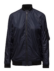 Twill Bomber Jacket - RL NAVY