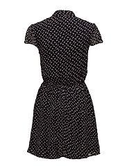 Floral-Print Gauze Dress