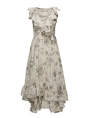 Floral Gauze Estate Maxi Dress - CLIMBING ROSE FLO