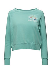 French Terry Graphic Pullover - SHALLOW WATER ISL