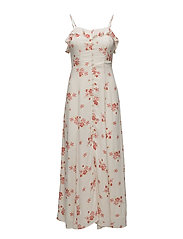 Floral-Print Cutout-Back Dress - JOSEPHINE FLORAL