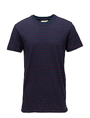 Striped Cotton Jersey Tee - CPTN STRIPE DP CO