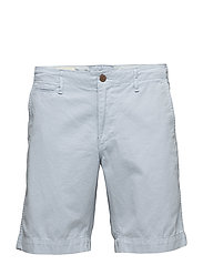COTTON CHINO SHORT - WASHED BLUE