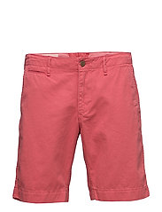 COTTON CHINO SHORT - SUN RED