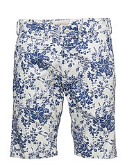 Slim Fit Cotton Chino Short - ANDERS PRINT