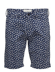 Slim Fit Floral Chino Short - CASWELL PRINT
