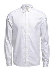 CLASSIC-LS-SPORT SHIRT - WHITE