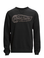 CREWNECK-LONG SLEEVE-KNIT - FADED BLK CANVA