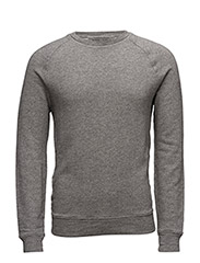RAGLAN CREW-LONG SLEEVE-KNIT - BATTALION HEATH