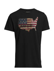 SS CN FDD BLK CAN-OLD GLORY AM - FADED BLK CANVA