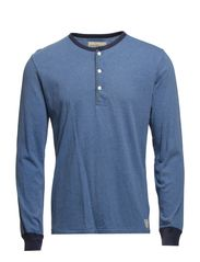 LS HENLEY - BLUE HEATHER
