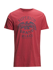 COTTON HAWK-GRAPHIC TEE - NANTUCKET RED S