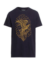 SS CREWNECK (EAGLE AND STARS) - CLASSIC NAVY (E